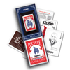 Zippo Flame lighter and Playing Cards - Gift Set