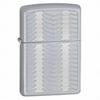 Zippo Lightly Feathered Satin Chrome Lighter