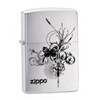 Zippo Logo with Butterfly Lighter