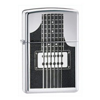 Zippo Electric Guitar Polished Chrome Lighter